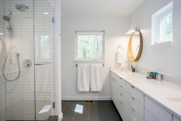 Interior photo of the bathroom