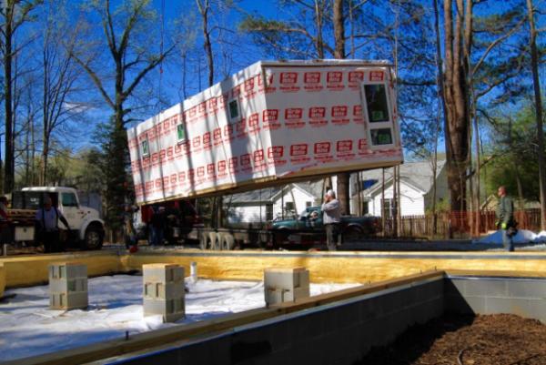 Building the modular house