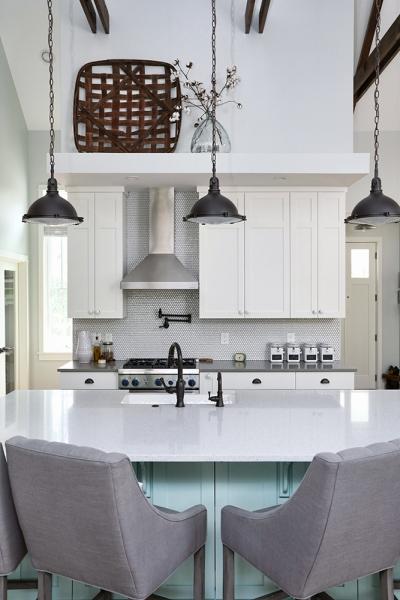 Interior photo of the kitchen