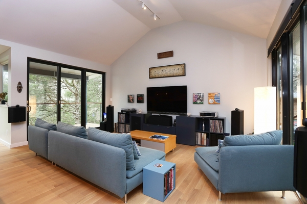 Interior photo of the living room